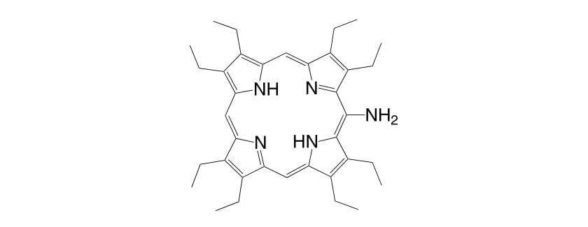 3134 01 8 - 5,15-Bis[3,5-di(tert-butyl)phenyl]porphyrin CAS 173613-63-3