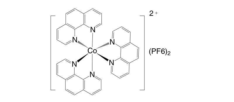 31876 74 1 - Co(III)(bpy-pz)2(PF6)3 CAS 1346417-60-4