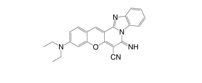 3-(Diethylamino)-7-imino-7H-benzo[4,5]imidazo[1,2-a]chromeno[3,2-c]pyridine-6-carbonitrile CAS 52372-39-1