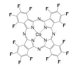 Cobalt(II) 1,2,3,4,8,9,10,11,15,16,17,18,22,23,24,25-hexadecafluoro-phthalocyanine CAS 52629-20-6