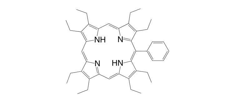 60188 33 2 - 5,15-Bis[3,5-di(tert-butyl)phenyl]porphyrin CAS 173613-63-3