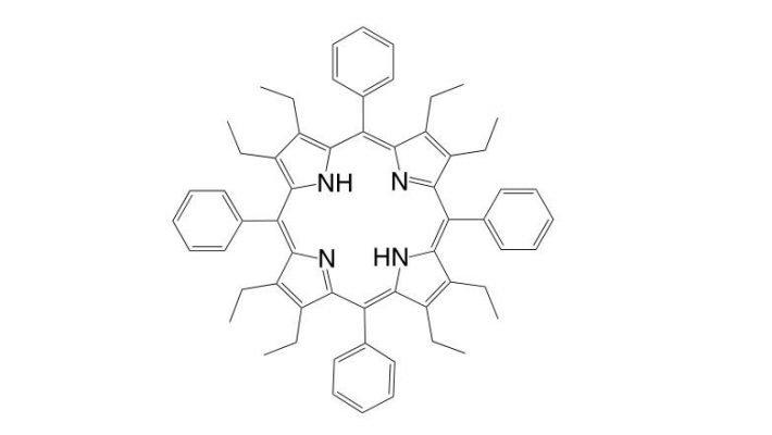 2,3,7,8,12,13,17,18-Octaethyl-5,10,15,20-tetraphenylporphyrin CAS 63511-61-5