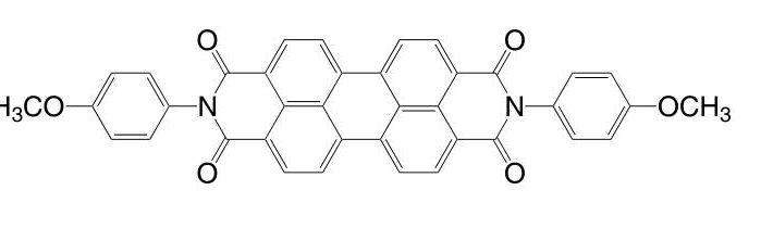 N,N'-Bis(4-methoxyphenyl)-3,4,9,10-perylenetetracarboxylicdiimide CAS 6424-77-7