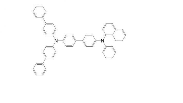 N 4,N 4-Di(biphenyl-4-yl)-N 4′-(naphthalen-1-yl)-N 4′-phenyl-biphenyl-4,4′-diamine CAS 897671-42-0