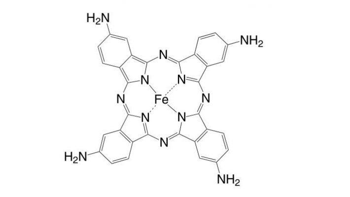 Iron(II) 2,9,16,23-tetraamino-phthalocyanine CAS 95100-27-9