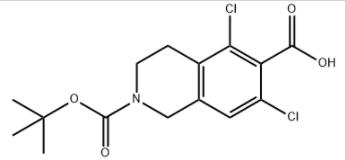 5,7-Dichloro-3,4-dihydro-2,6(1H)-isoquinolinedicarboxylic acid 2-(1,1-dimethylethyl) ester CAS 851784-82-2
