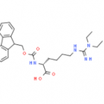 Structure of Fmoc D HomoargEt2 OH·HCl CAS 2098497 24 4 150x150 - Custom Amino Acids and Peptides