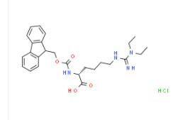 Structure of Fmoc D HomoargEt2 OH·HCl CAS 2098497 24 4 - D-Homoarginine CAS 110798-13-5