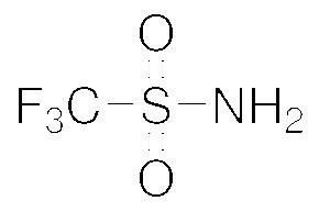 Structure of Trifluoromethanesulfonamide CAS 421 85 2 - Trifluoromethanesulfonamide CAS 421-85-2