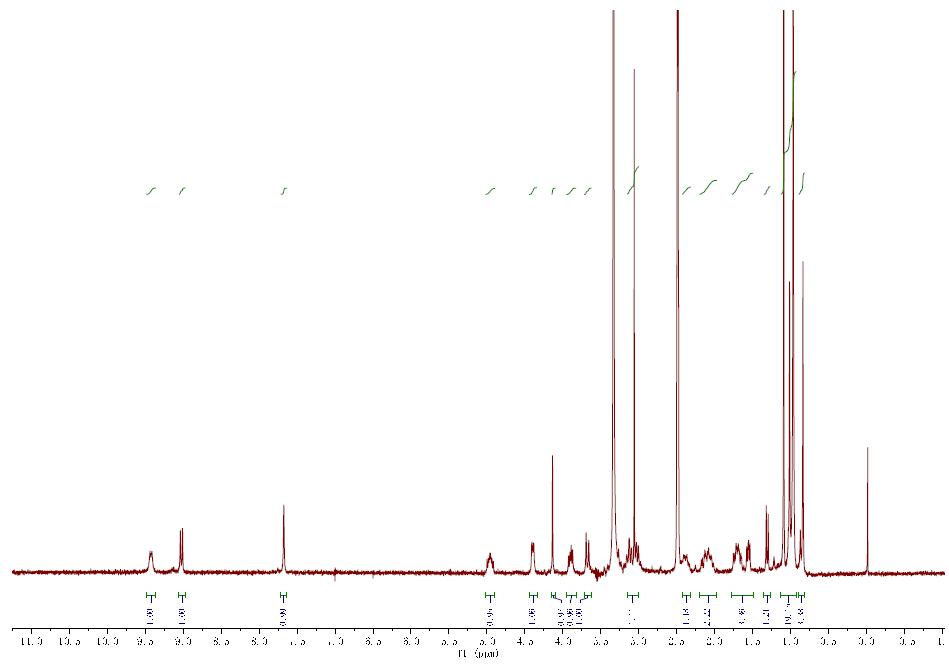 HNMR of PF 07321332 CAS 2628280 40 8 - PF-07321332 CAS 2628280-40-8