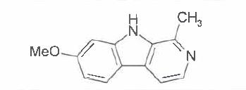 Structure of Harmine CAS 442 41 3 - Methyl 4,5-diaMino-3-fluoro-2-(phenylaMino)benzoate CAS 606144-42-7